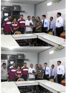 Media Visit Pos Kupang